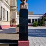 Памятник Зелинскому Н. Д., Тирасполь, пер.  Бочковского, д. 2
