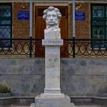 Памятник-бюст Пушкину А. С., Тирасполь, ул. Советская , д. 59