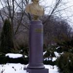 Памятник-бюст Соловьёвой В. С., Тирасполь, ул.  25 Октября